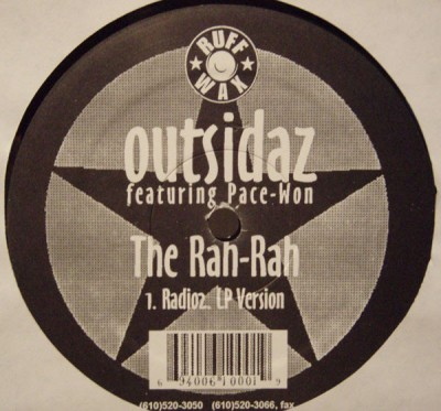 Outsidaz - Don't Look Now / The Rah-Rah