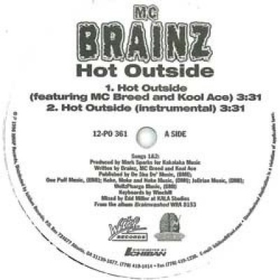 MC Brains - Hot Outside