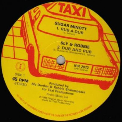 Sugar Minott - Rub-A-Dub / Red Hot