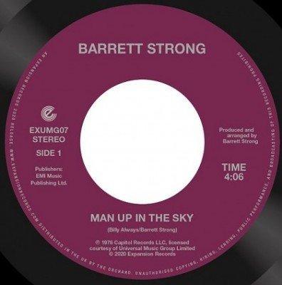 Barrett Strong - Man Up In The Sky