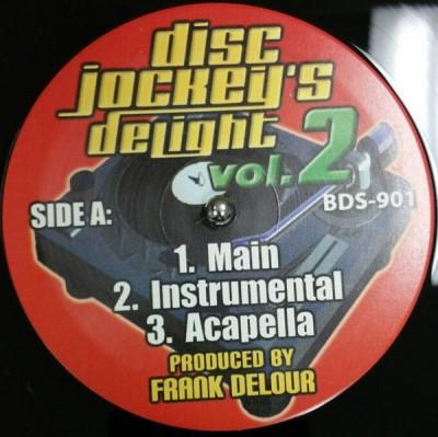 Frank Delour - Disc Jockeys's Delight Vol. 2