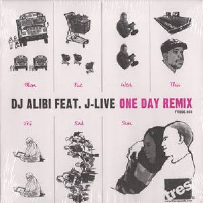 DJ Alibi Featuring J-Live - One Day Remix