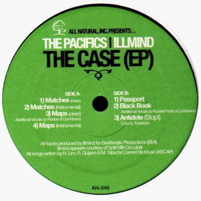 The Pacifics - The Case (EP)