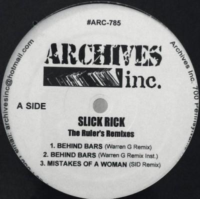 Slick Rick - The Ruler's Remixes