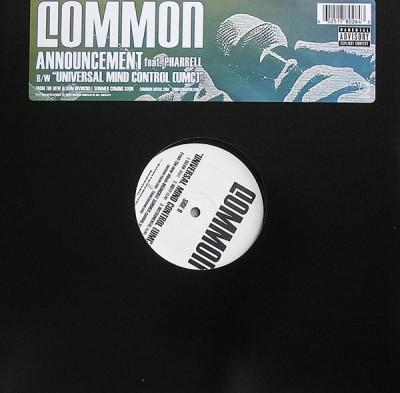 Common - Announcement / Universal Mind Control (UMC)