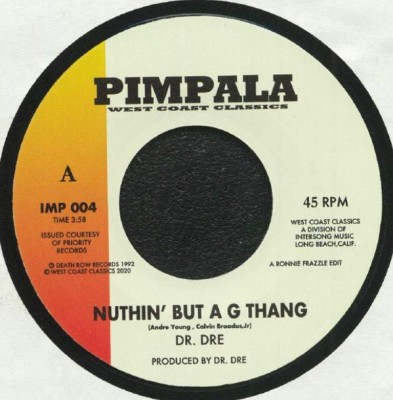 Dr Dre / The Lady Of Rage - Nuthin' But A G Thang / Afro Puffs