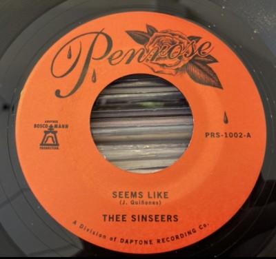 Thee Sinseers - Seems Like