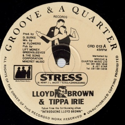 Lloyd Brown - Stress