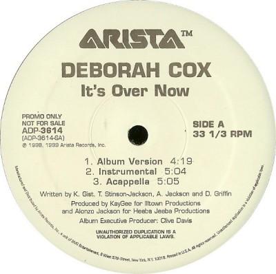 Deborah Cox - It's Over Now