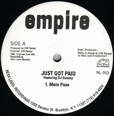 Empire - Just Got Paid
