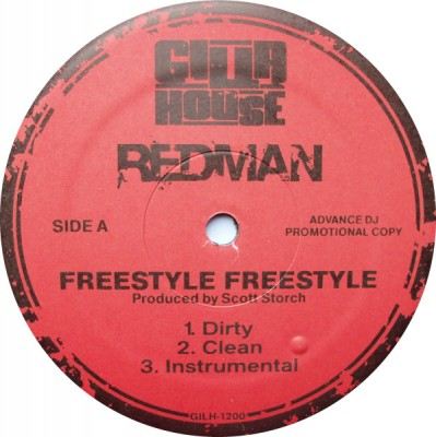 Redman - Freestyle Freestyle / Walk In Gutta
