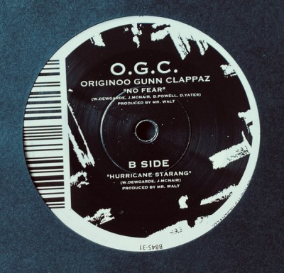 O.G.C. - No Fear / Hurricane Starang