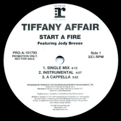 Tiffany Affair - Start A Fire