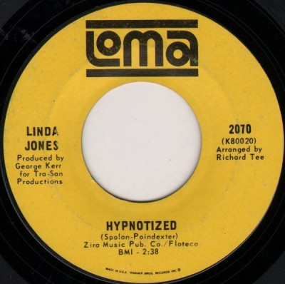 Linda Jones - Hypnotized / I Can't Stop Lovin' My Baby