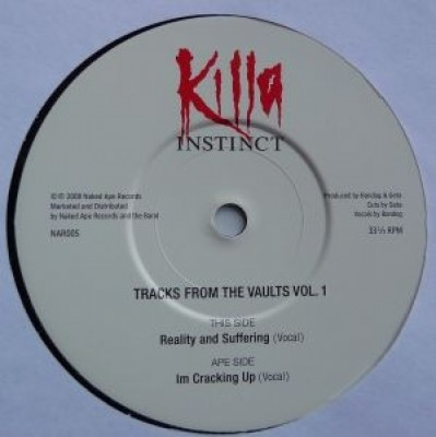 Killa Instinct - Tracks From The Vaults Vol. 1