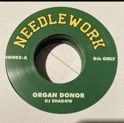 DJ Shadow - Organ Donor / The Number Song