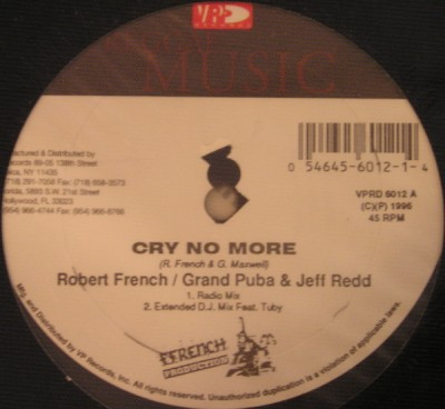 Robert Ffrench - Cry No More / Time Is Slipping