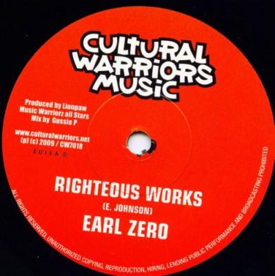 Earl Zero - Righteous Works
