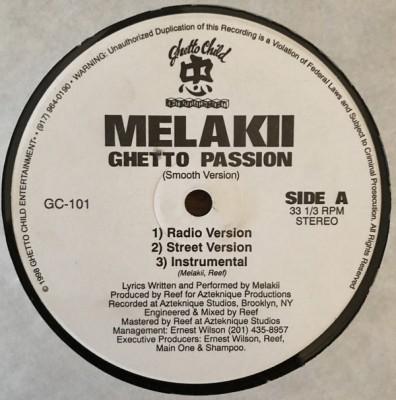 Melakii - Ghetto Passion