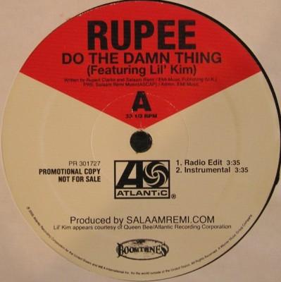 Rupee - Do The Damn Thing