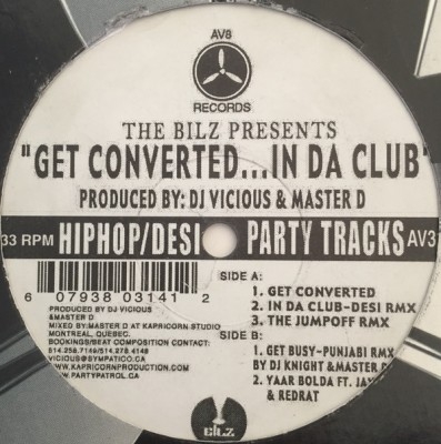 The Bilz - Get Converted... In Da Club