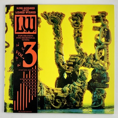 King Gizzard And The Lizard Wizard - L.W. (Explorations Into Microtonal Tuning Vol. 3) [Recycled Black Wax]
