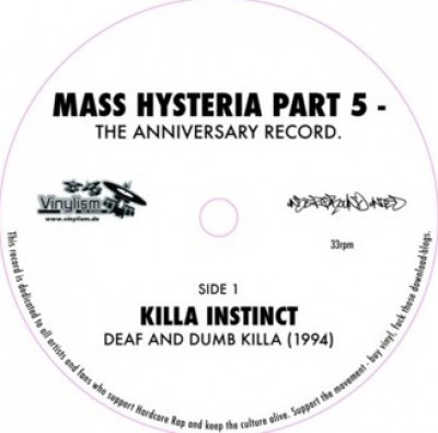 Various - Mass Hysteria Part 5 - The Anniversary Record