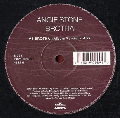 Angie Stone - Brotha