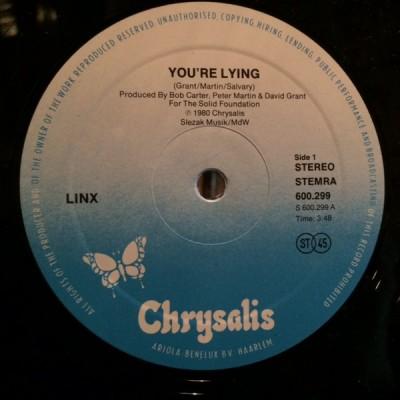 Linx - You're Lying