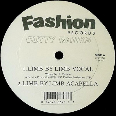Cutty Ranks - Limb By Limb
