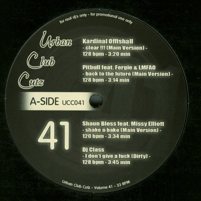 Various - Urban Club Cutz 41
