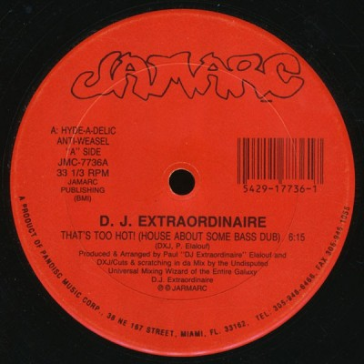 DJ Extraordinaire - That's Too Hot