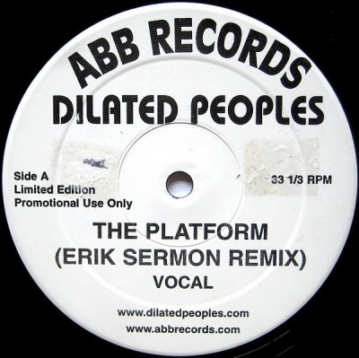 Dilated Peoples - The Platform (Erik Sermon Remix)