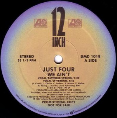 Just Four - We Ain't