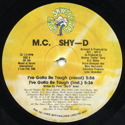 MC Shy D - I've Gotta Be Tough
