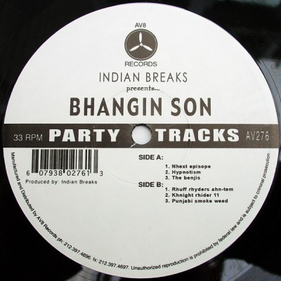 Indian Breaks - Bhangin Son