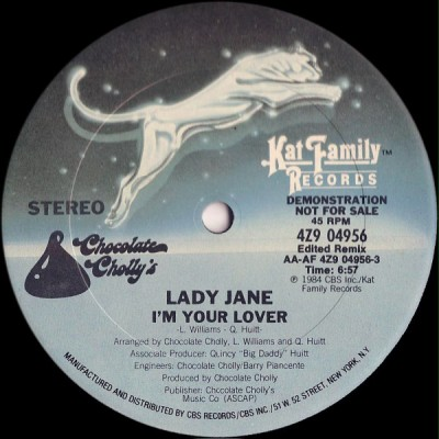 Lady Jane - I'm Your Lover