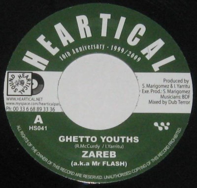 Zareb a.k.a. Mr Flash / Papa Kojak - Ghetto Youths / Evil Forces