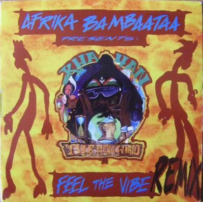 Afrika Bambaataa Pres. Khayan - Feel The Vibe (Remix)