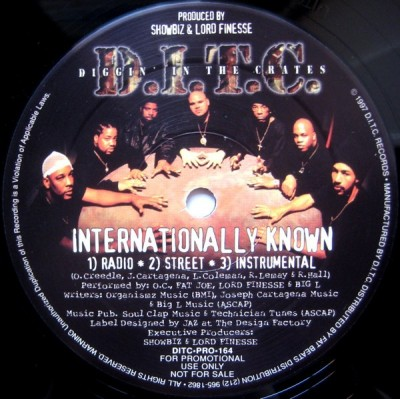 D.I.T.C. - Internationally Known / The Enemy