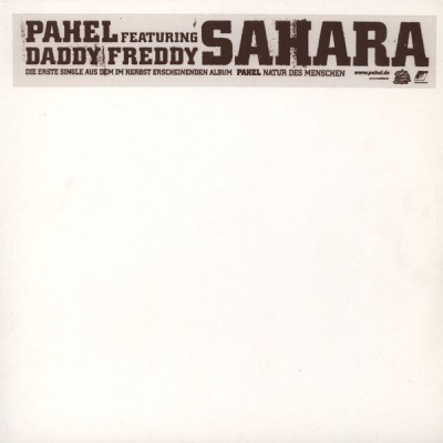 Pahel Featuring Daddy Freddy - Sahara