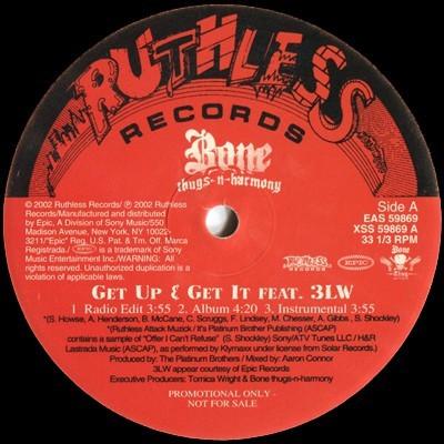 Bone Thugs-N-Harmony - Get Up & Get It / Bone, Bone, Bone