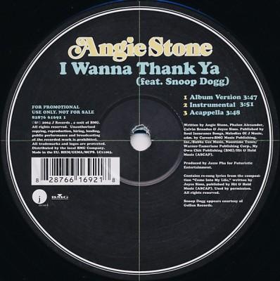 Angie Stone - I Wanna Thank Ya