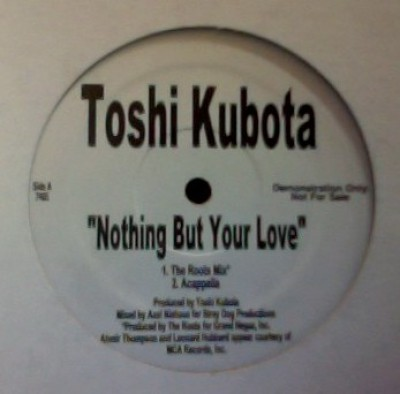 Toshinobu Kubota - Nothing But Your Love