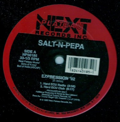 Salt 'N' Pepa - Expression '92 / Do You Want Me '92