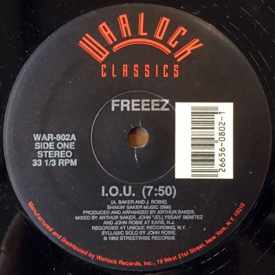 Freeez - I.O.U.