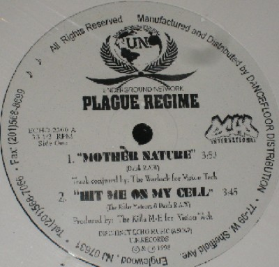 Plague Regime - Mother Nature / Hit Me On The Cell / 2-1-5