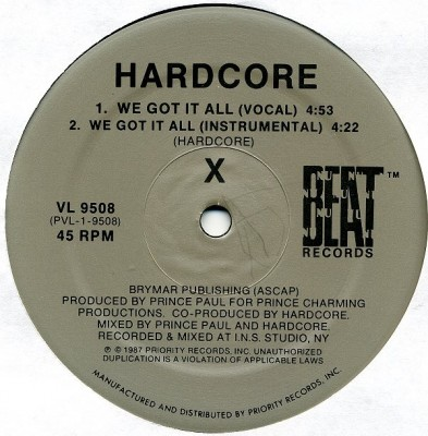 Hardcore - We Got It All