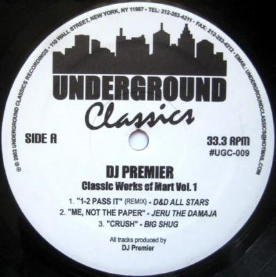DJ Premier - Classic Works Of Mart Vol. 1