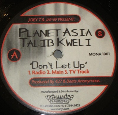 Planet Asia - Don't Let Up
